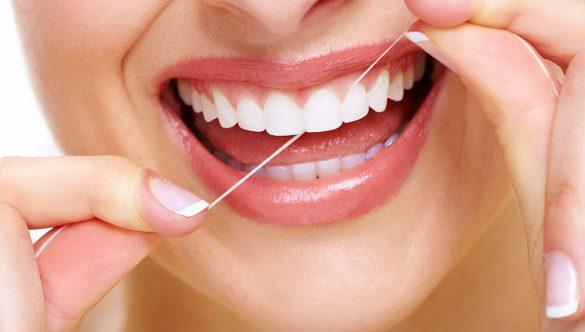 Kako pravilno koristiti zubni konac.